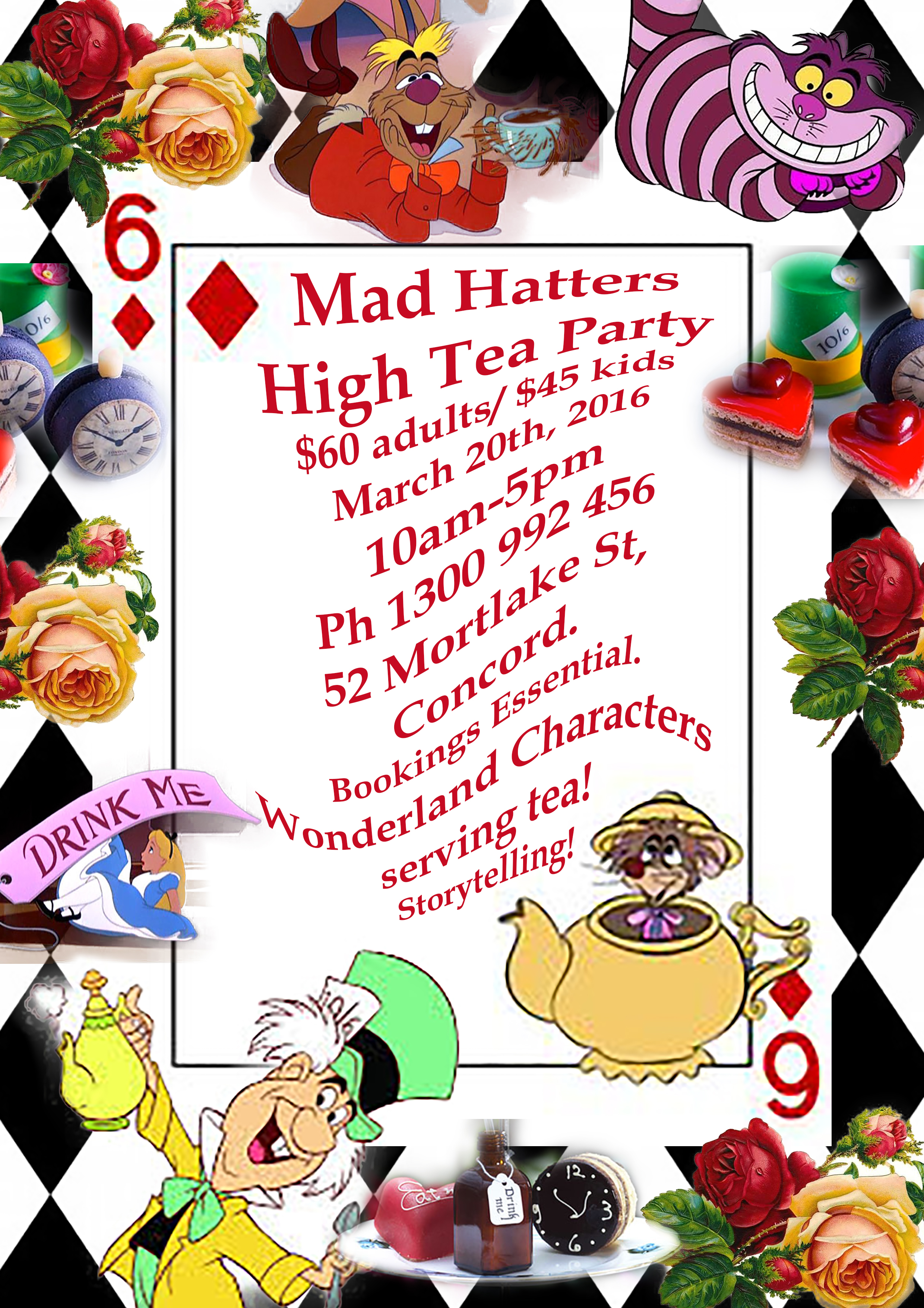 mad hatter u2019s tea party set for march  finding fairyland painting boxes preschool painting boxes to look like stone